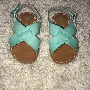 Little girl sandals